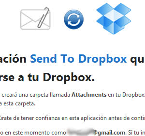send to dropbox