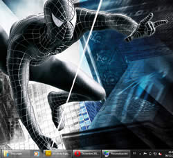 pelicula amazing spiderman tema windows 7