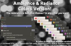 Ambiance y Radiance 8 colores