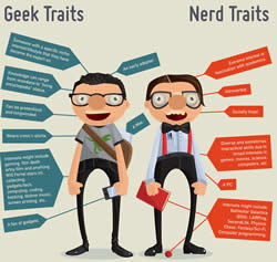 geeks vs nerds